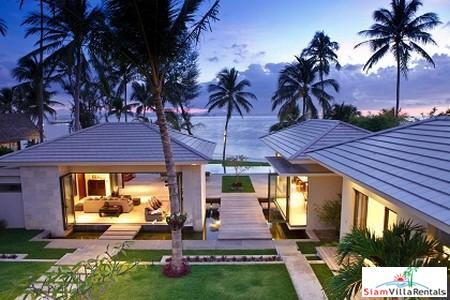 Luxury Beachfront Pool Villas Available with 4-7 Bedrooms in Lipa Noi, Samui