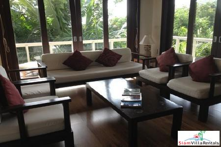 Private Two Bedroom Thai Villa with Sea View in Kata