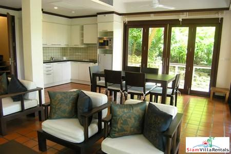 Garden Two Bedroom Thai Villa with in Kata