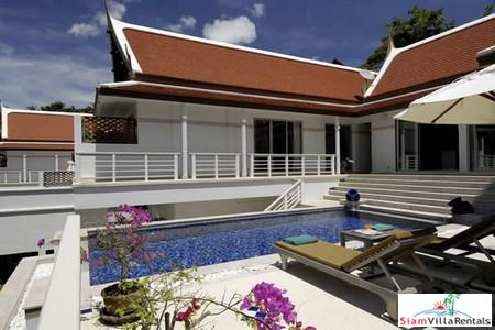 Luxury Three Bedroom Pool Villa with Sea View in Kata