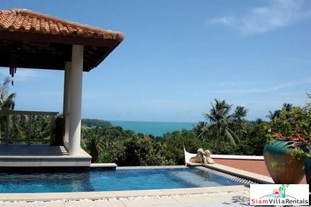 Sea View Four Bedroom Villa with Private Pool in Kata