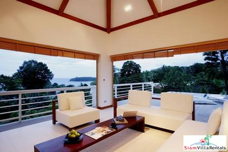 Elegant Four Bedroom Villa with Infinity Pool Overlooking Kata Bay