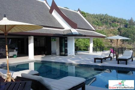 Luxurious Four Bedroom Pool Villa with Sea and Mountain Views in Kata, Kata, Phuket