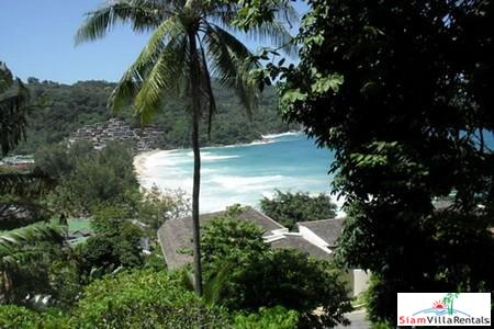 Thai Style Three Bedroom Holiday Villa Overlooking Kata Noi Beach