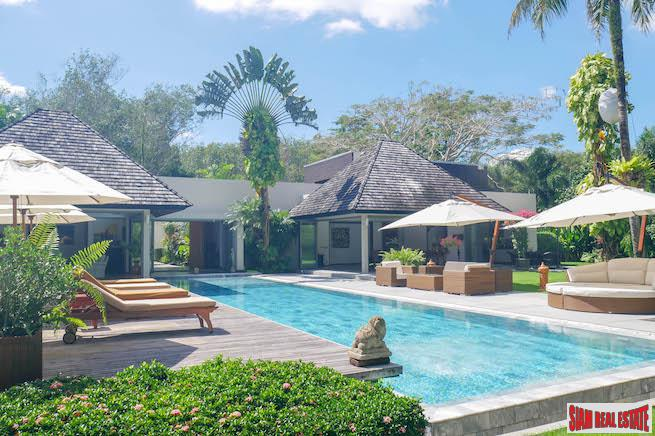 Modern Five Bedroom Pool Villa in an Exclusive Estate in Layan