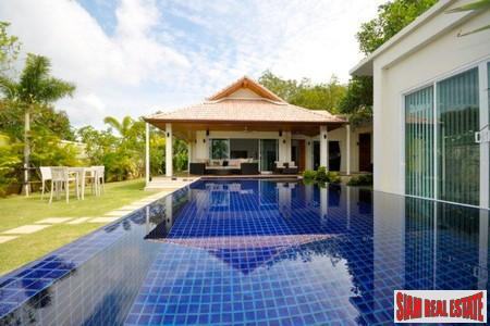 New Modern Three Bedroom Pool Villa in Thalang