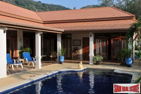 Three Houses on One Rai of Land in Nai Harn - Two with Three Beds and Pools and a One Bed