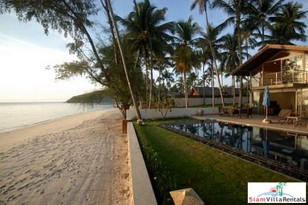 Stunning Beachfront Pool Villa Available with Two or Four Bedrooms in Lipa Noi, Samui