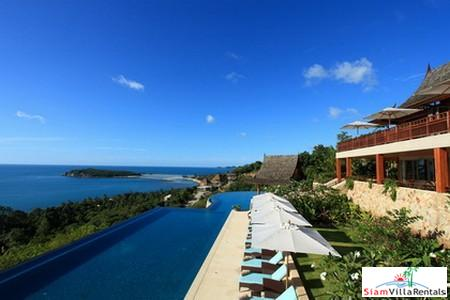 Spectacular Seaview Pool Villa Available with Four, Five or Seven Bedrooms in Chaweng, Samui
