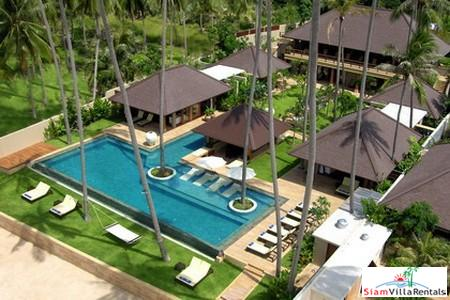Sophisticated Beachfront Pool Villa with Four or Six Bedrooms in Laem Sor, Samui