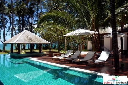Luxurious Beachfront Pool Villa with Four to Six Bedrooms in Lipa Noi, Samui