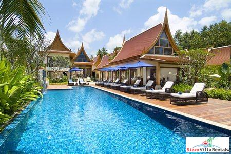 Luxury Thai Beachfront Pool Villa with Two or Five Bedrooms in Lipa Noi, Samui