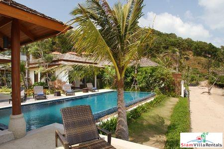 Private Beachfront Villa with Two or Four Bedrooms and Private Pool at Bophut, Samui