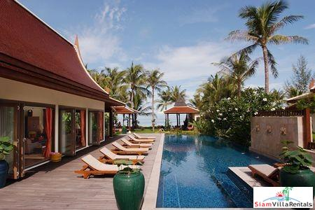 Beachfront Thai Style Pool Villa with Three, Four or Five Bedrooms in Lipa Noi, Samui