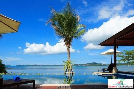 Elegant Beachfront Pool Villa Available with Two or Four Bedrooms in Bophut, Samui