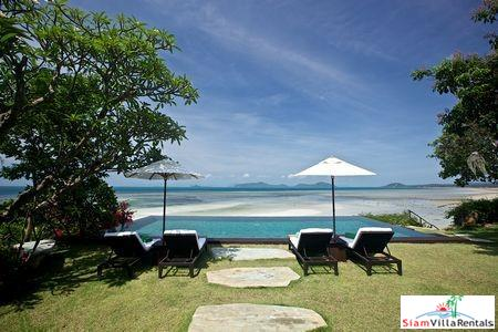 Chic Rustic Pool Villa with Three or Five Bedrooms on a Secluded Beach at Laem Set, Samui