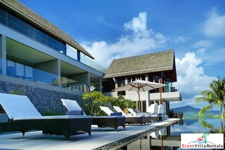 Ultra Modern Sea View Pool Villa with Six Bedrooms in Bophut, Samui