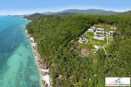 Ultra Modern Cliffside Pool Villa with One, Two or Four Bedrooms and Private Beach in Lipa Noi, Samui