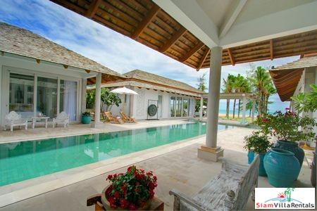 Sophisticated Beachfront Pool Villa with Three or Five Bedrooms in Chaweng, Samui