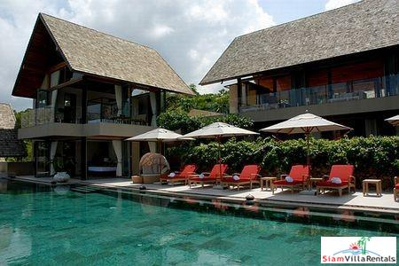 Exclusive Seaview Villas with Four or Five Bedrooms with Private Swimming Pools in Bophut, Samui