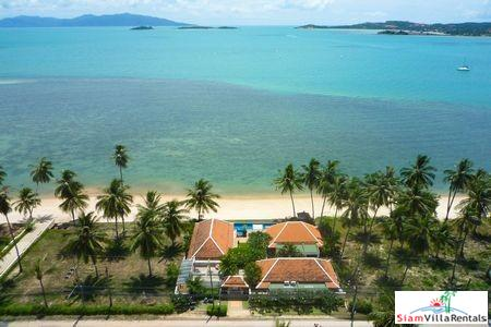 Private Beachfront Villa with Two or Three Bedrooms at Big Buddha Beach, Samui