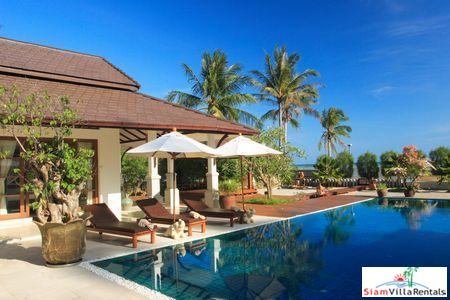 Three or Four Bedroom Pool Villa on the Stunning Beach at Laem Set, Samui