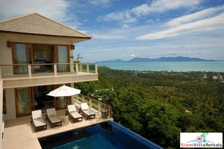 Stunning Three or Four Bedroom Pool Villa in the Bohput Hills, Samui