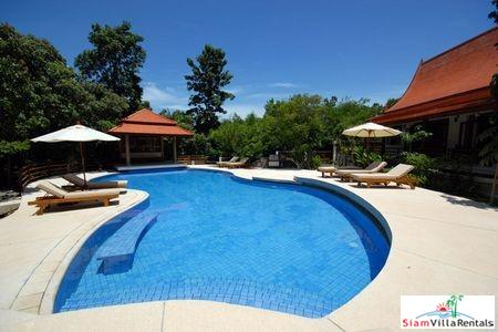 Serene Thai Pool Villa with Three, Four or Five Bedroom Pool Villa in Choengmon, Samui