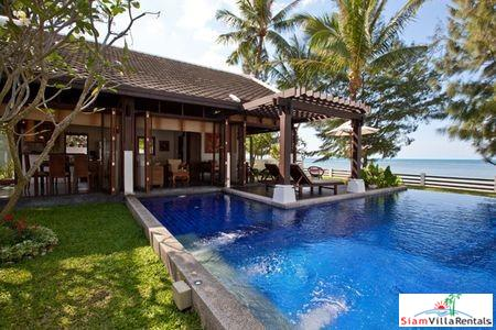 Contemporary Beachfront Pool Villa with Two or Three Bedrooms on Laem Noi Beach, Samui