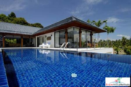 Luxury Holiday Villas with Four Bedrooms and Private Pools near Rawai Beach