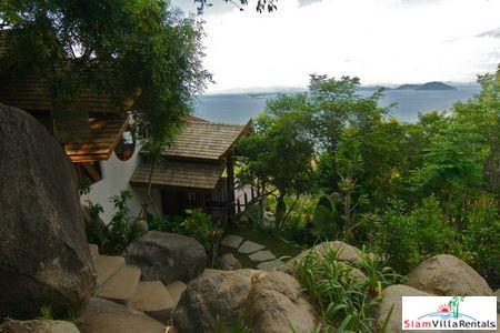 Unique Nature Villa with Two or Three Bedrooms in Laem Set, Samui