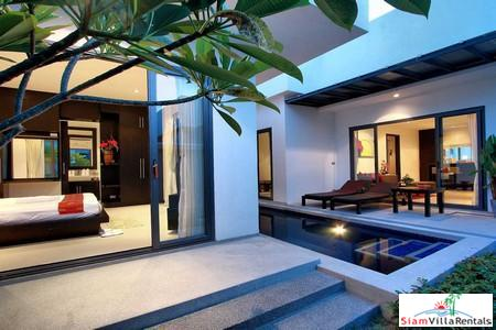 Tropical Two Bedroom Pool Villa near Layan Beach