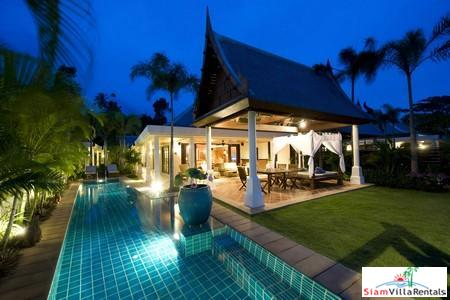 Stylish Two or Three Bedroom Pool Villa Directly on the Beach at Maenam, Samui