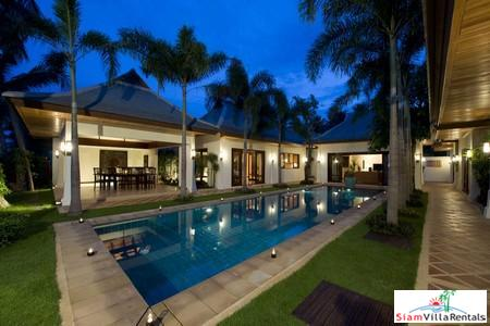 Elegant Three or Five Bedroom Pool Villa on the Beach at Maenam, Samui