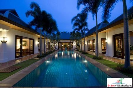 Grand Three or Five Bedroom Pool Villa in a Beachfront Resort at Maenam, Samui
