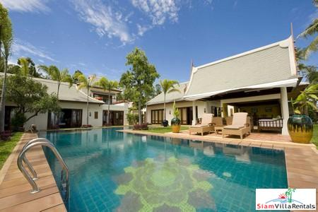 Stunning Beachfront Three or Six Bedroom Pool Villa at Maenam, Samui