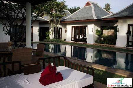 Beautiful Beachfront Pool Villa with Three or Five Bedrooms at Maenam, Samui