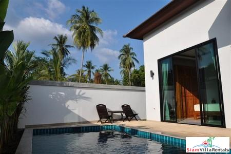 Tropical Two Bedroom Rental Villa with Private Pool in Rawai