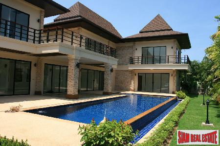 New Luxury Six Bedroom House with Private Pool in Nai Harn