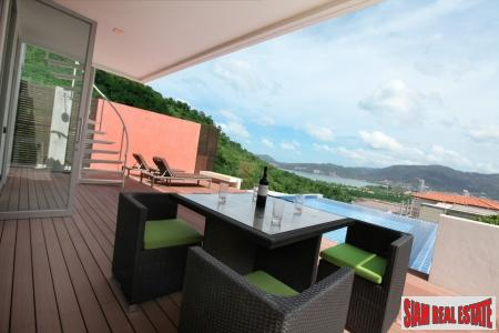 Contemporary, New Three Bedroom Sea View Villa