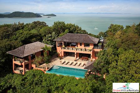 Luxury 7/8 Bedroom Pool Villa in Exclusive Cape Panwa, Phuket