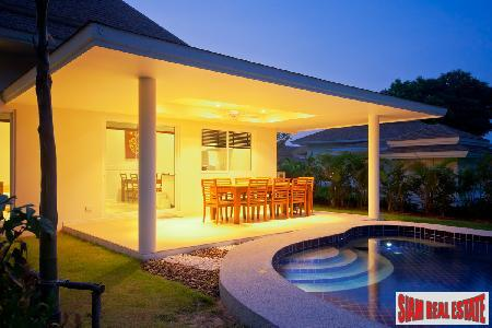 New Development of Balinese Thai Style 2 or 3 Bedroom Private Pool Villas Ideal for Golfers