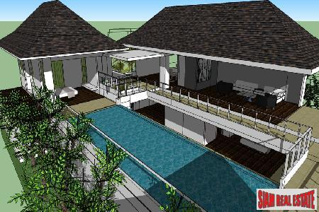 Small New Development of Contemporary Pool Vills With Mountain and Sea Views