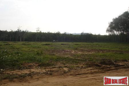 Large 6.1 Rai Flat Land Available in Thalang