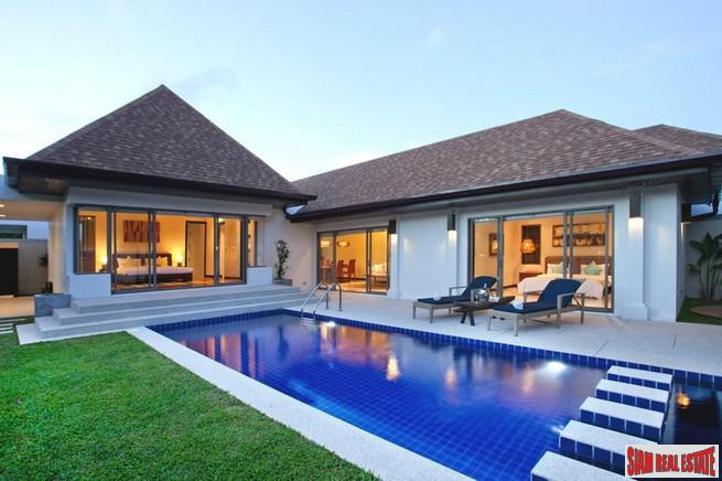 Three Bedroom Pool Villa in New Development in Nai Harn