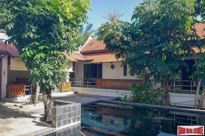 Beautiful Contemporary Balinese Three Bedroom Pool Villa for Rent in a Quiet Area of Rawai