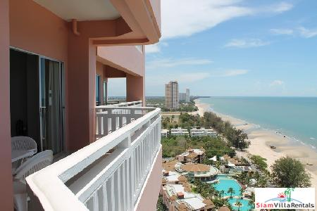 2 Bedrooms condominium on the beach for sale.