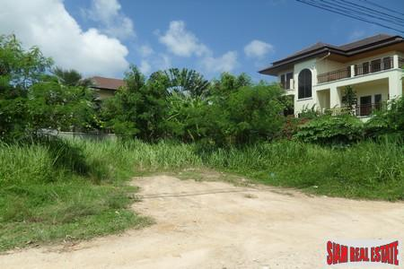 640 SQM Flat Land in Quiet Area of Rawai