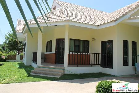 3 bedrooms villa with large garden