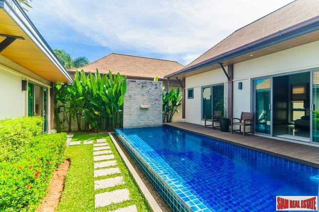 Modern Three Bedroom Pool Villa with Detached Pool Suite in Rawai